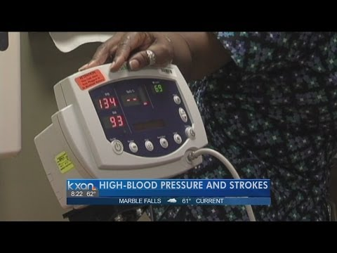 Doctor discusses link between blood pressure and stroke