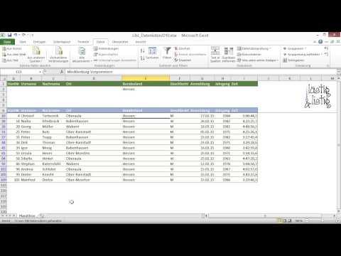 Excel 2019: CSV-Datei in Tabelle umwandeln - Power Query-Editor [importieren, externe Daten abrufen]из YouTube · Длительность: 8 мин27 с