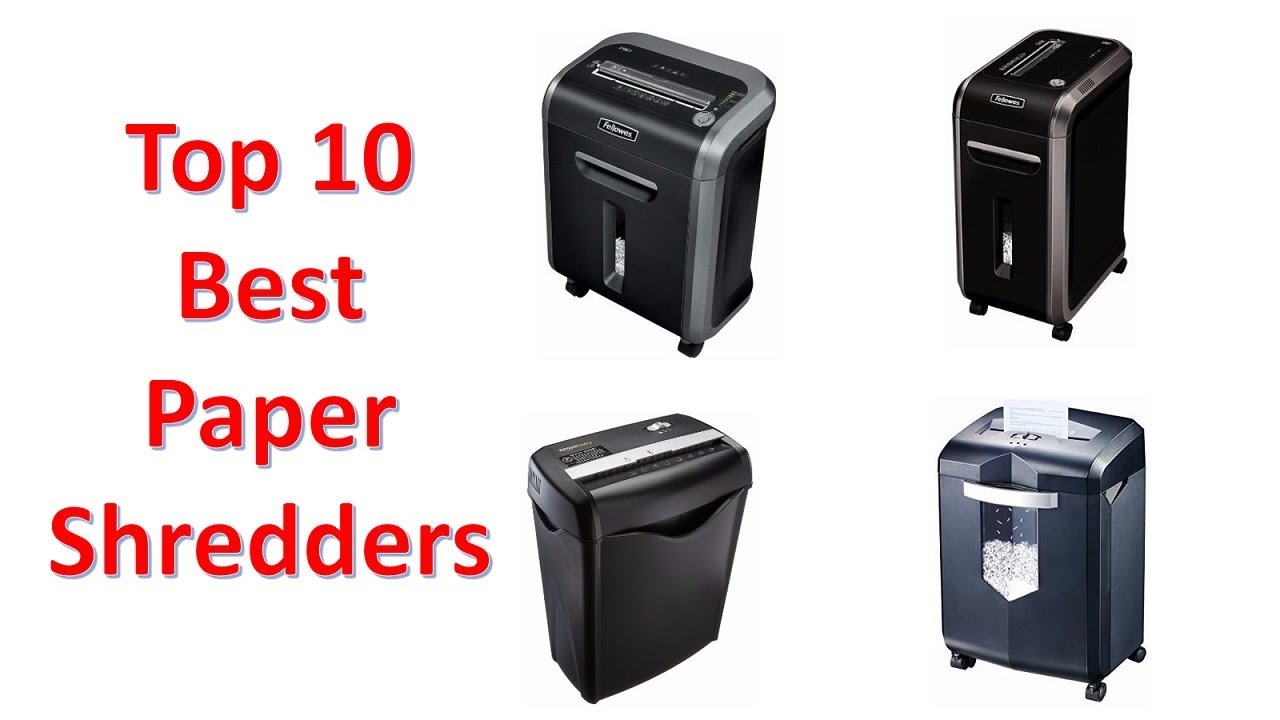 Top 10 Best Paper Shredders of 2018 You Can Buy On Amazon - YouTube