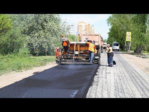 Глава Луховиц проинспектировал ход дорожных работ