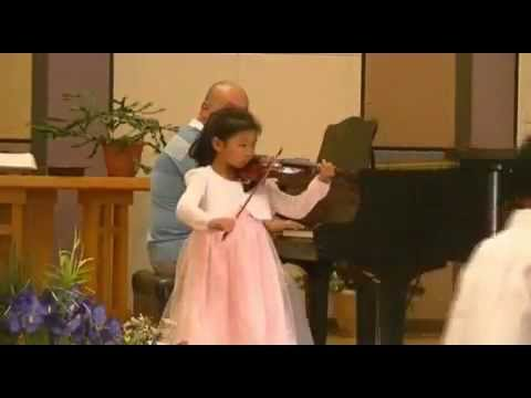 Violin Recital in Sunnyvale CA
