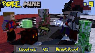 Minecraft - Mini-Jeu ( Saison 2 ) N°9 - PokeMine Vs Newtiteuf - 2 Joueurs