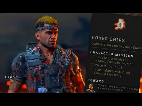 Blackout: How to Unlock Crash! (Poker Chip Location)