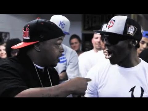 AHAT Rap Battle | Trigaaah vs Shi Dog | Las Vegas vs California
