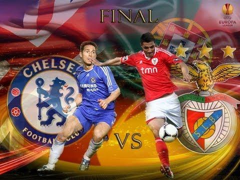 Benfica VS Chelsea Final Liga Europa 2013 HD - Fifa 13