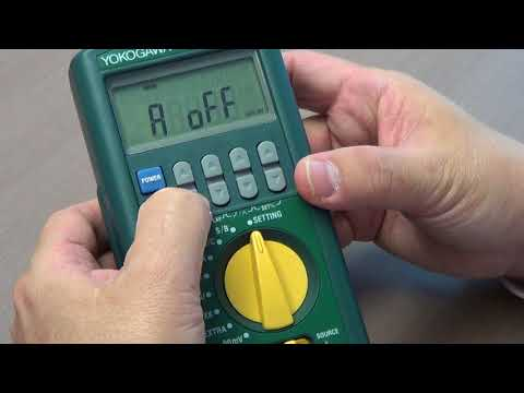 How to calibrate UT35A using CA320 TC Calibrator