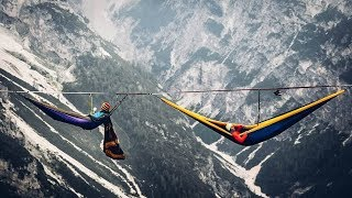 Breathtaking! The Most Dangerous Hammock in the World