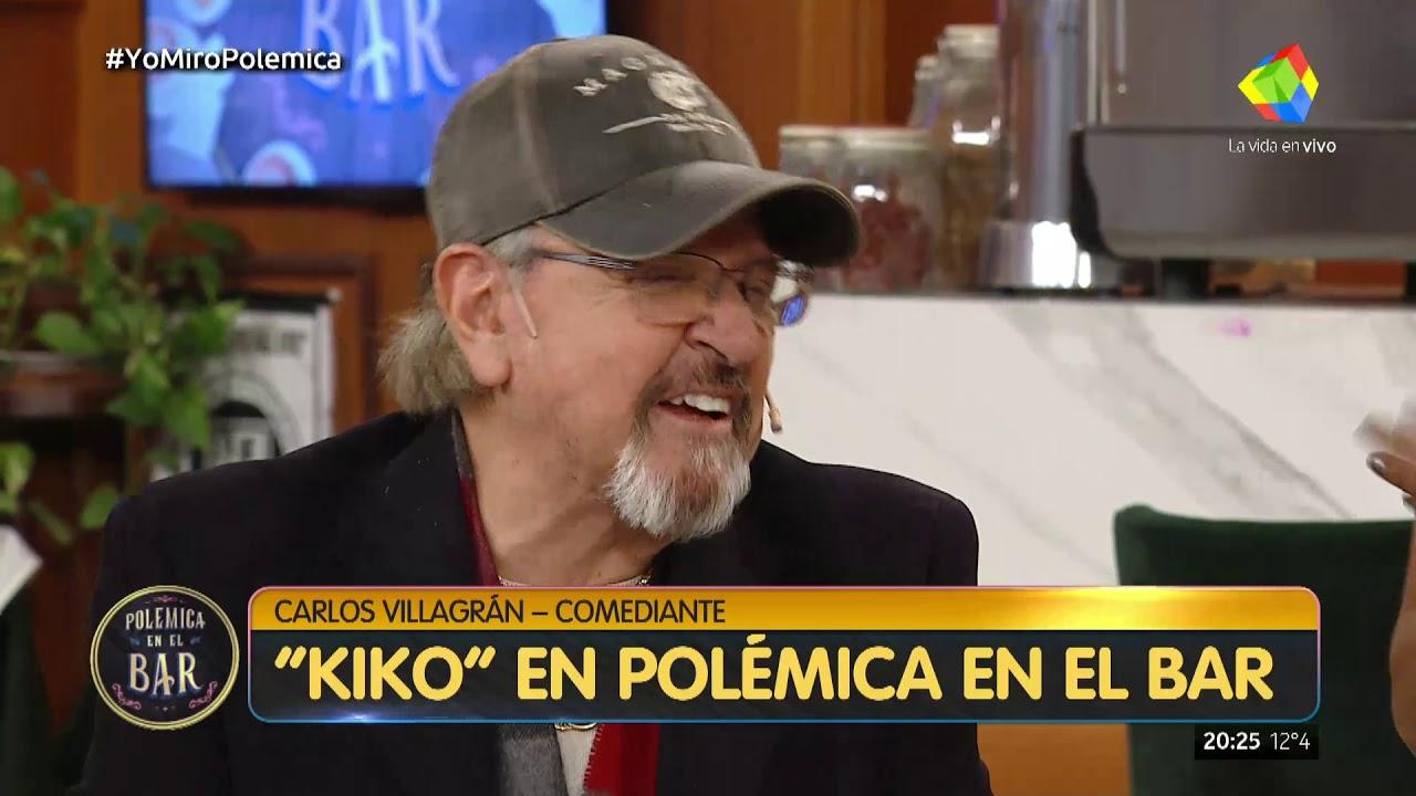 Carlos Kiko Villagran Dio Detalles De Su Pelea Con Chespirito En Polemica En El Bar