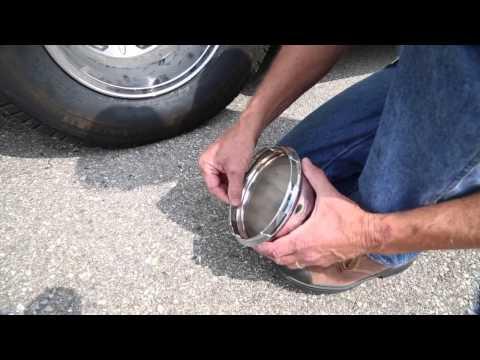Wheel Cap Removal | Roadtreking Across America
