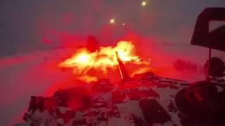Мотострелки и танкисты ЦВО отразили ночную атаку условного противника под Оренбургом