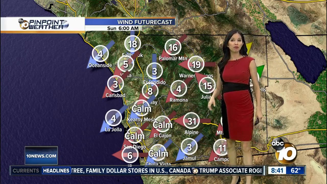 Download 10News Pinpoint Weather for Sat. Nov. 16, 2019