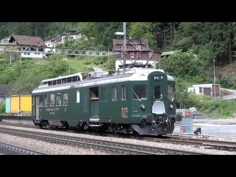 Gotthard railway and tunnel cab ride, Switzerland best ride !