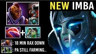 EPIC Sh*t 18 Min Rax Down NEW Style Armor Melt PA vs PRO Anti-Mage Crazy 1 Shot Comeback 7.22 Dota 2