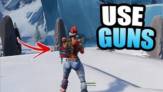 *NEW* How To Have + Use Guns In The Creative HUB In Fortnite | OP Season 7 Glitch