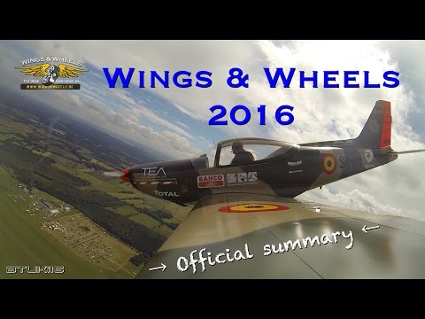 WINGS & WHEELS 2016 : Official summary