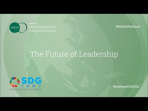 Hoffmann Global Institute for Business & Society – SDG Tent Panel 'The Future of Leadership'