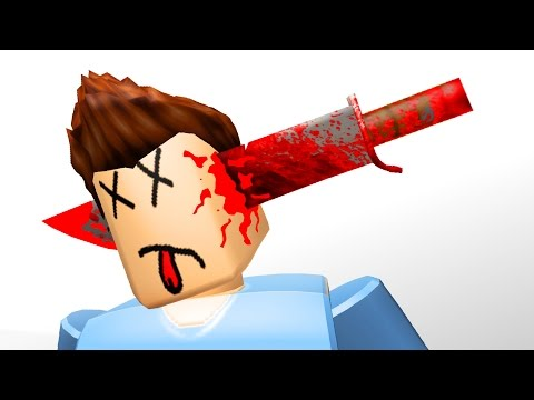 Roblox Adventures / Murder Mystery / Throwing Knife to the Face!!