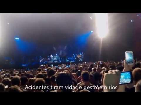 Pearl  Jam doa cachê do show em BH para vítimas do desastre em Mariana