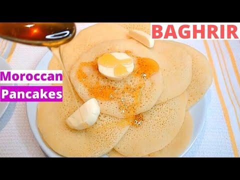 moroccan-pancakes-baghrir- -moroccan-fluffy-pancake-recipe- -crêpes-à-mille-trous