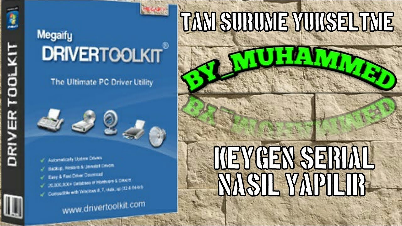 Driver Tool Kit Serial / Keygen / Full Yapma / Nasıl ...