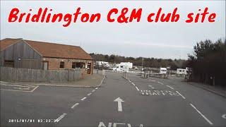 Bessie at Bridlington Caravan & Motorhome club site