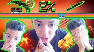 NYERJ 2%-AL KARAMBITOT ÉS BAJONETET! / Megütöttem a Jackpot-ot :D # Video