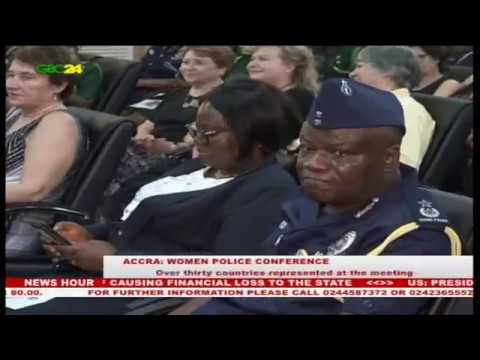 Ghana Police hosts International Association of Women Police