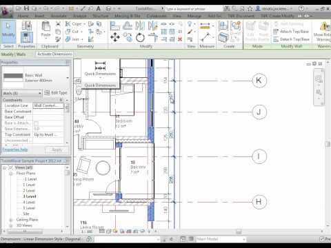 Revit Add-on for Automatic Dimensioning | Quick Dimensions | AGACAD