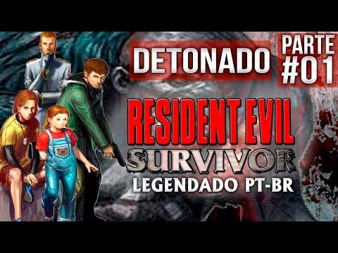 Resident Evil Survivor (Detonado) Legendado #01 Sem memoria