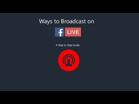 How To Live  Broadcast Any Video?