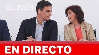 Directo PSOE | Rueda de prensa tras la Ejecutiva presidida por PEDRO SÁNCHEZ