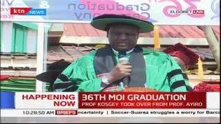 The 36th Moi University Graduation underway, more than 1000 to be feted