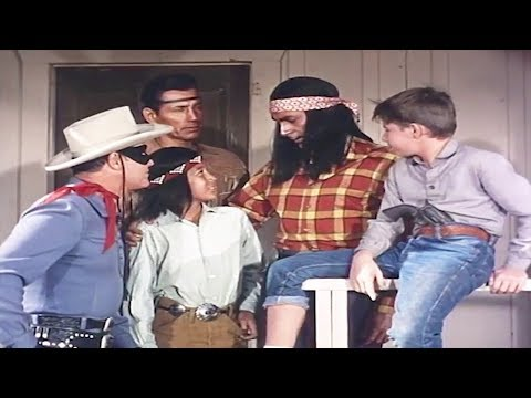 The Lone Ranger  Ghost Town Fury  HD  TV Series English Full Episode