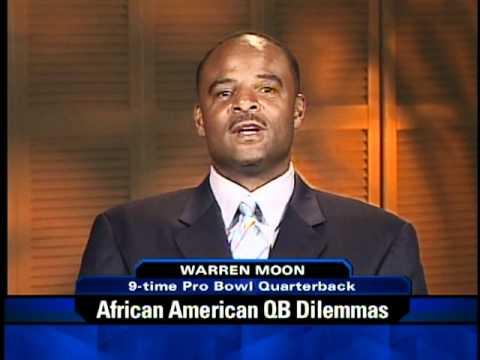 Warren Moon on OTL Discussing African American QB Dilemmas 1 of 2