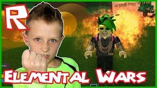 Roblox Elemental Wars / Fire Fist / LOUD SCREAMER