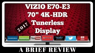 2017 Vizio E70-E3 70