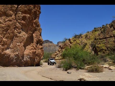 Bulldog Canyon Trail Arizona