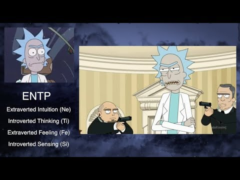 Rick and morty mbti