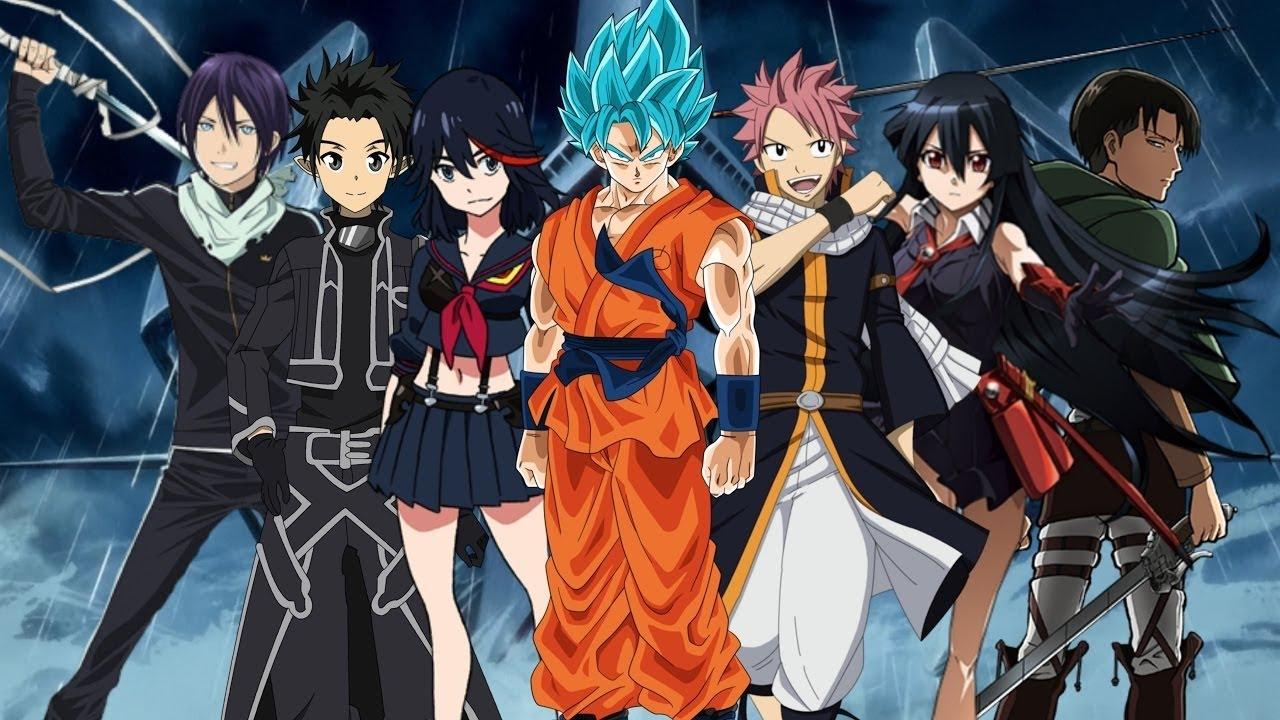 AMV Anime MIX SKILLET Saviors of the World