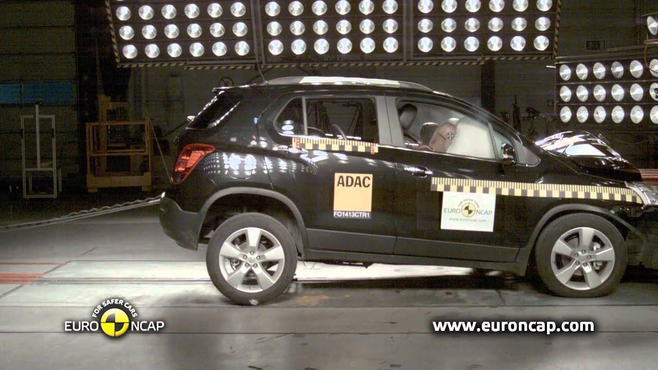Euro Ncap Chevrolet Trax 2013 Crash Test Youtube