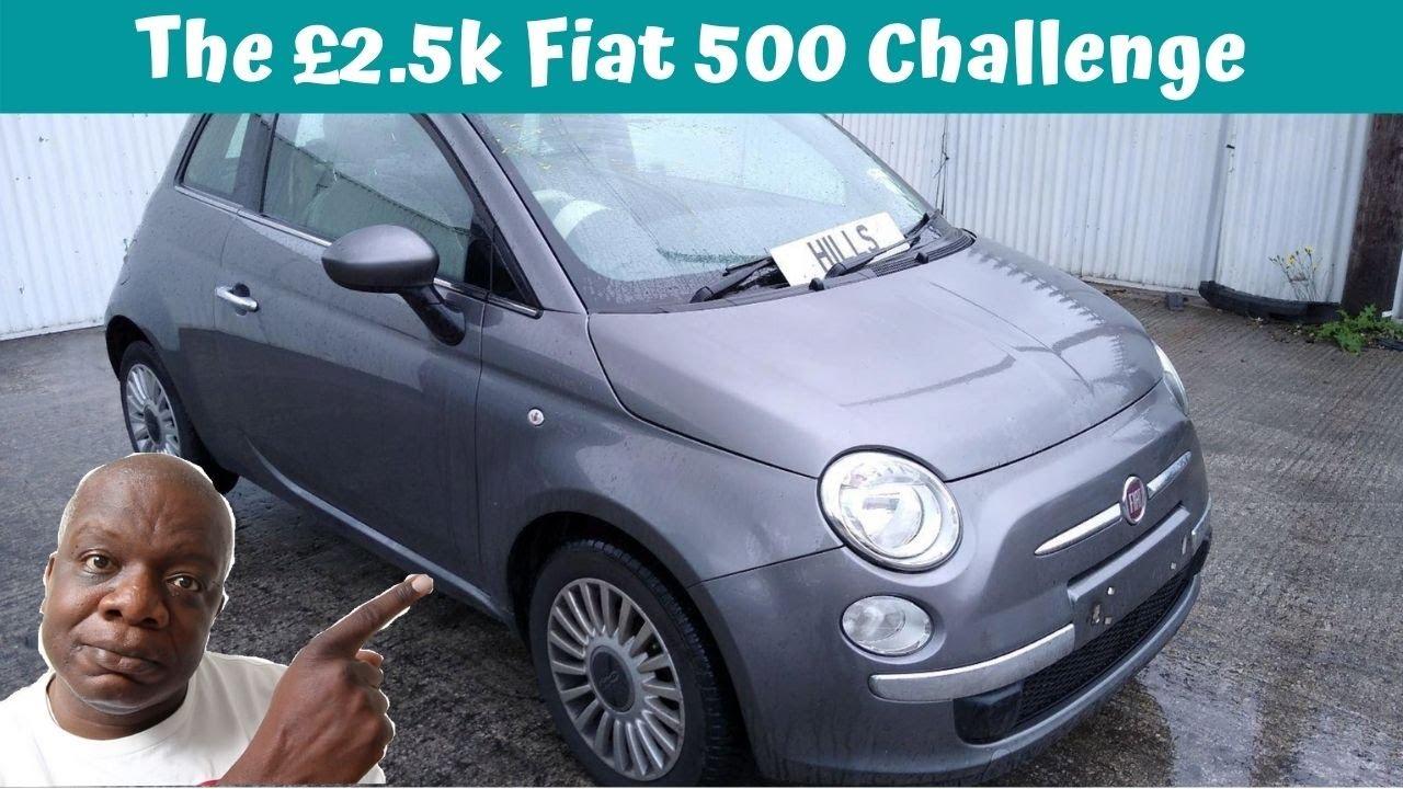 The £2 5k Fiat 500 challenge part 1