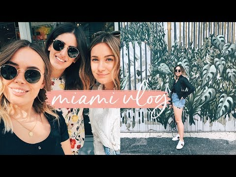 WHAT I WORE + DID IN MIAMI | Hello October Vlog