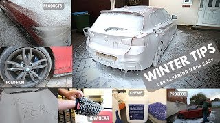 Top Tips for Detailing your car in Winter - Avoiding a world of pain