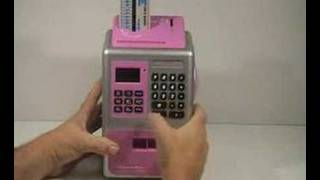 ATM Savings Piggy Bank Machine