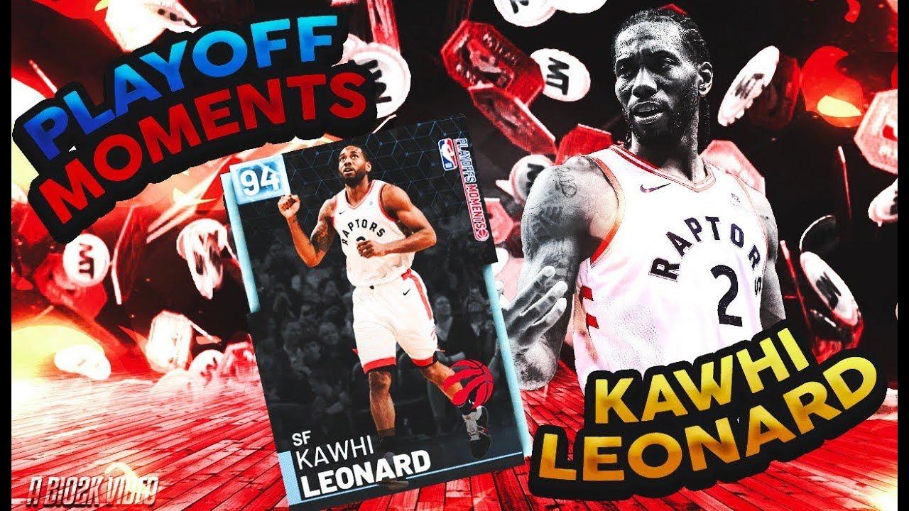 DIAMOND *PLAYOFF MOMENTS* KAWHI LEONARD GAMEPLAY! IS HE BETTER THAN THE OTHER DIAMOND!? NBA 2K19