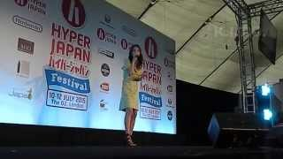 May J of J Mello on NHK World performs live on the Hyper Japan Fest...