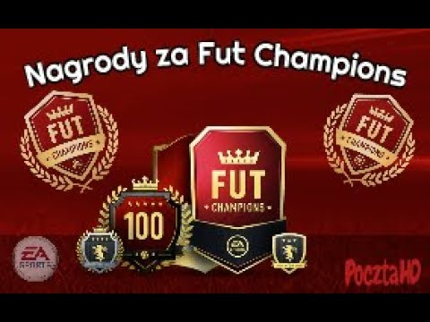 FIFA18 |NAGRODY ZA FUT CHAMPIONS| JEST NIEŹLE