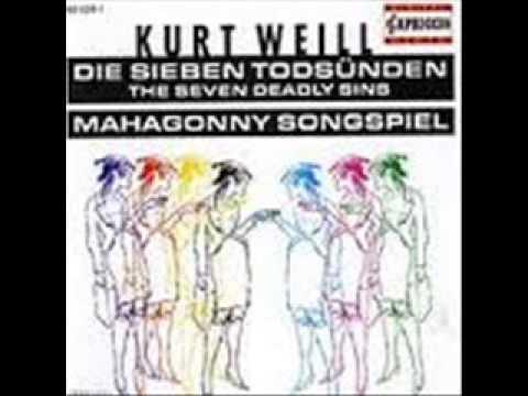 Kurt Weill - Berthold Brecht - Mahagonny Songspiel (König-Ensemble).wmv
