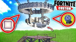 Fortnite the BEST PORTAL 2 Deathrun EVER! Can we Escape the PORTAL?! (Fortnite Creative Mode)