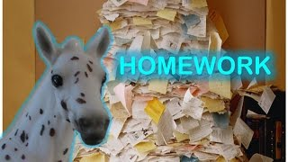 Breyer Horse Movie: Homework